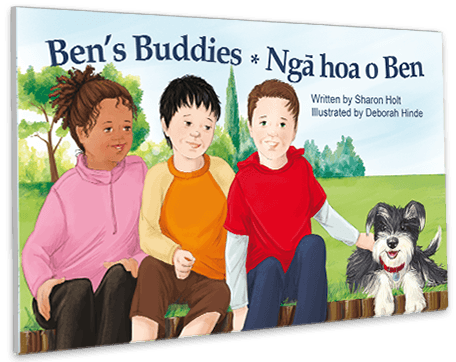 Ben's Buddies - Epilepsy Book Cover